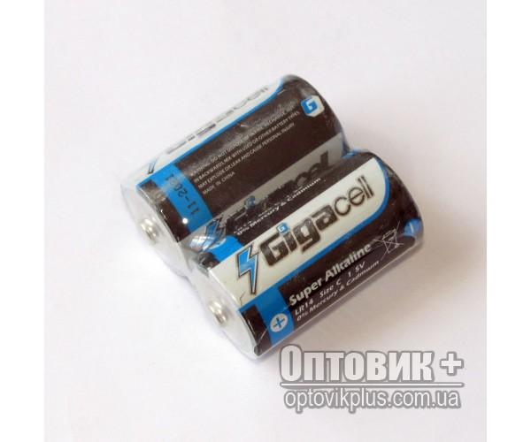 Батарейка Gigacell LR14 щелочная 1.5V C