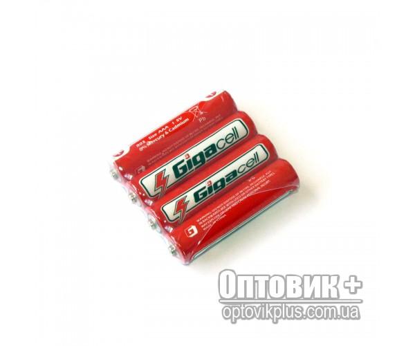 Батарейка Gigacell R03 PVC солевая 1.5V AAA