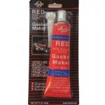 Герметик силиконовый жаростойкий «Интерхим» 85г (красный)