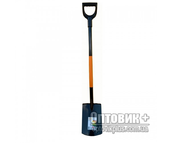 Лопата траншейная, метал. ручка, RXline