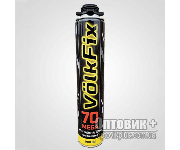 Пена монтажная Профи VolkFix 900мл (70л)
